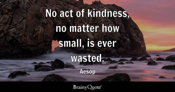 Act Of Kindness Quotes Best Kindness Quotes  Brainyquote