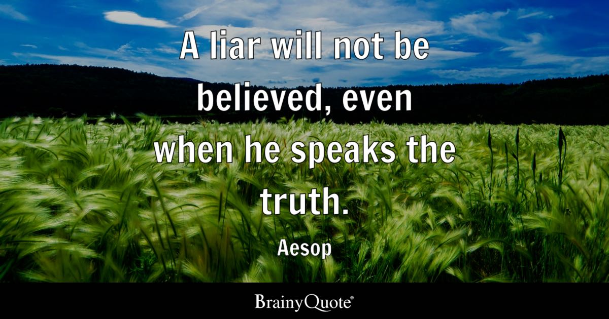 Top 10 Liar Quotes - BrainyQuote