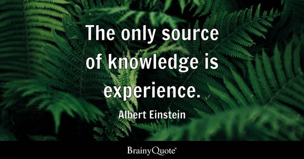 Image result for experience quotes