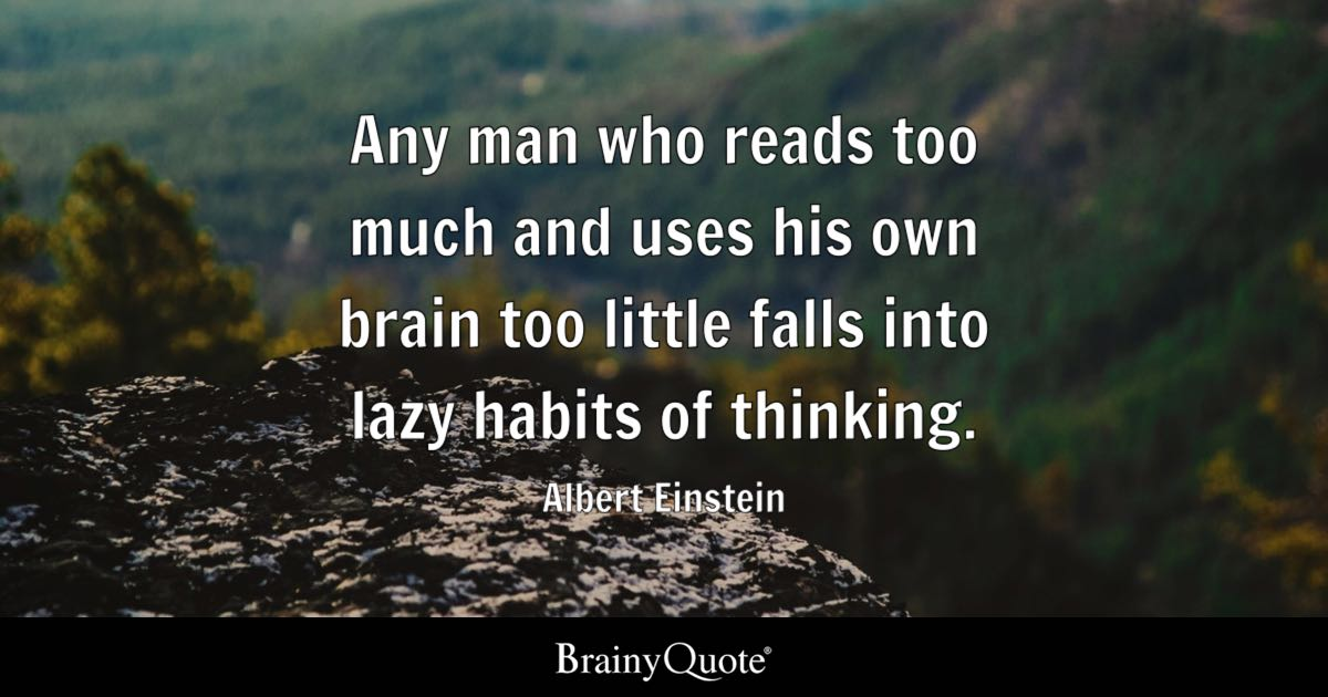 Albert Einstein Quotes Brainyquote