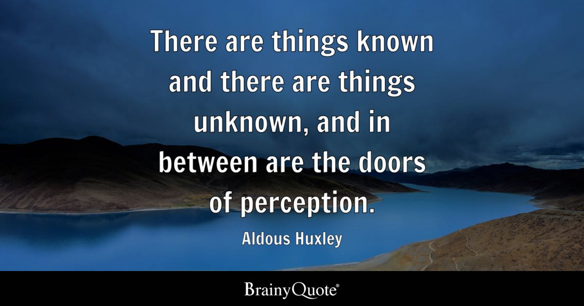 Image result for quote about unknown