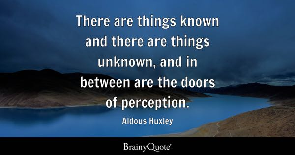 Perception Quotes Brainyquote