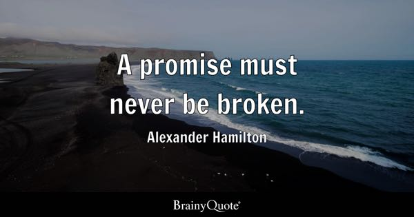 Promise Quotes Brainyquote
