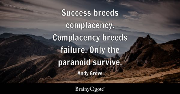 Complacency Quotes Amusing Complacency Quotes  Brainyquote