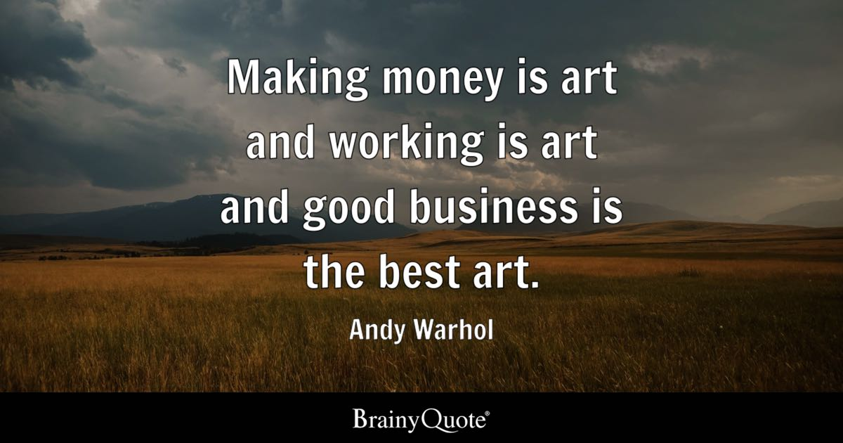 Andy Warhol Quotes Impressive Andy Warhol Quotes  Brainyquote