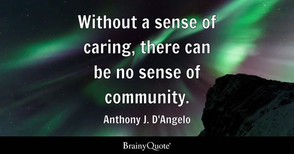 Community Quotes Brainyquote