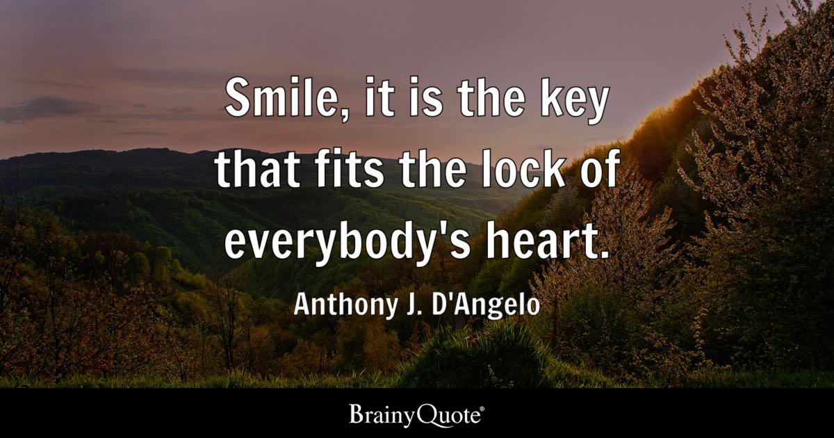 Quotes About Smiles Anthony J. D&#3...