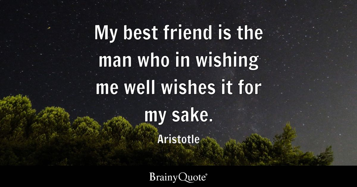 Happy Quotes About Friendship Inspiration Aristotle Quotes  Brainyquote