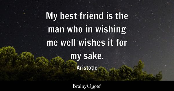 Best Friend Quotes Brainyquote