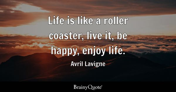 Enjoy Life Quotes BrainyQuote Awesome Quotes About Happy Person