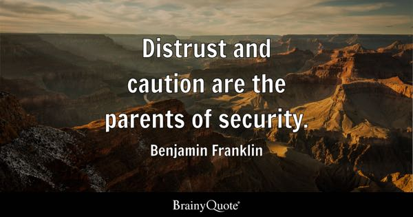 Security Quotes BrainyQuote Fascinating Security Quotes