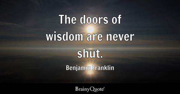 Image result for words of wisdom from benjamin franklin