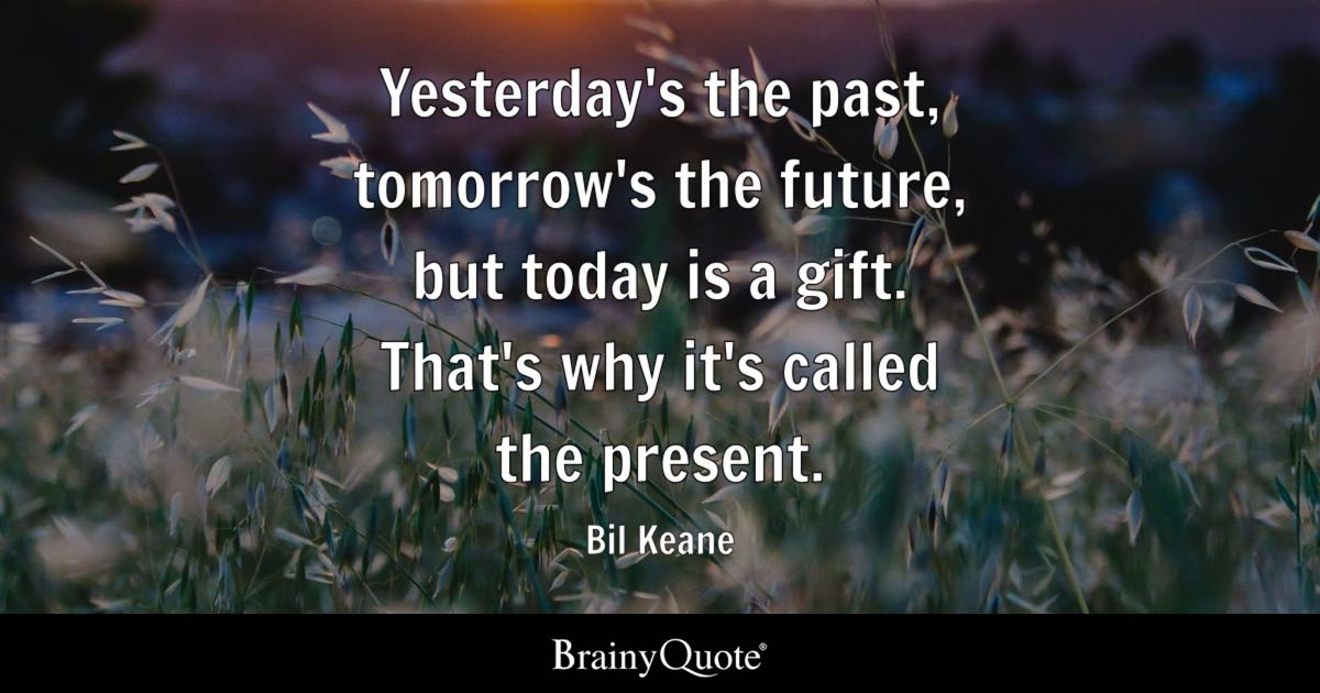 Bil Keane Yesterdays The Past Tomorrows The Future But