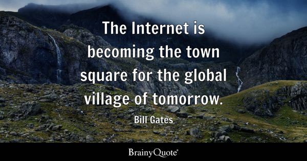 global village quotes brainyquote global village quotes