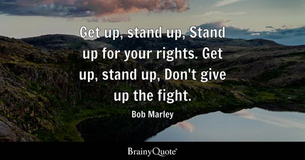 Stand Up Quotes Brainyquote