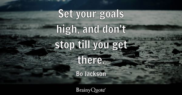 Quotes About Goals New Goals Quotes BrainyQuote