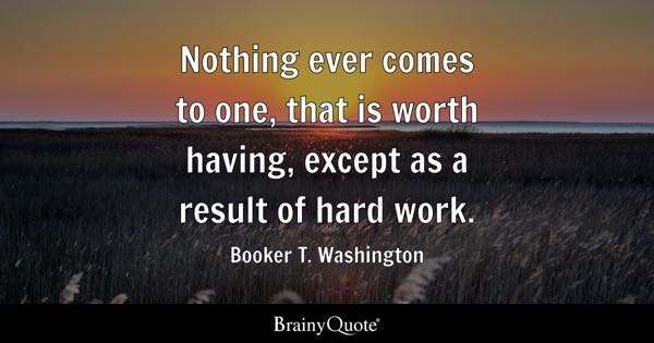 Hard Work Quotes BrainyQuote Enchanting Quotes Hard Work