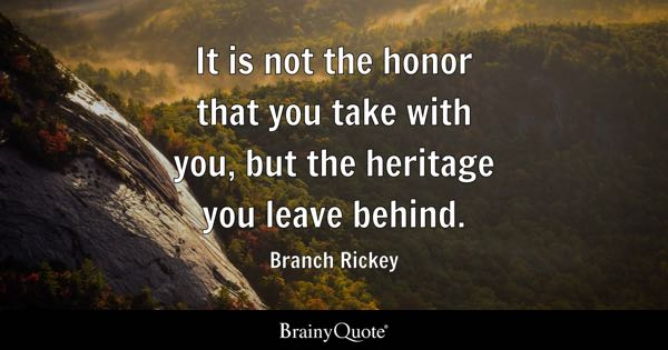Honor Quotes Brainyquote