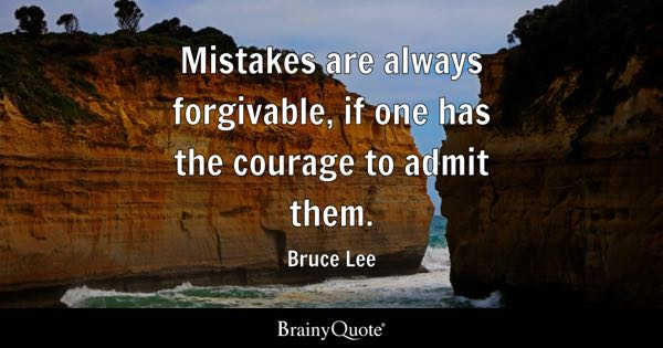 Mistakes Quotes BrainyQuote Mesmerizing Quotes On Amending Friendship