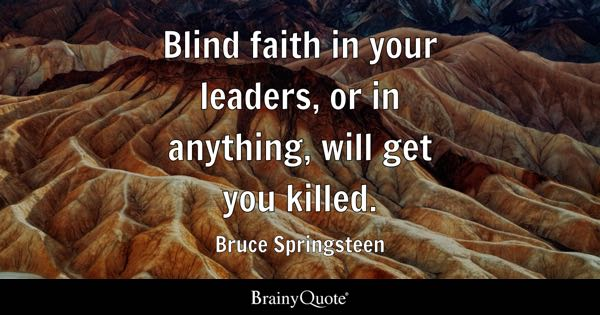 Blind Quotes Pleasing Blind Faith Quotes  Brainyquote