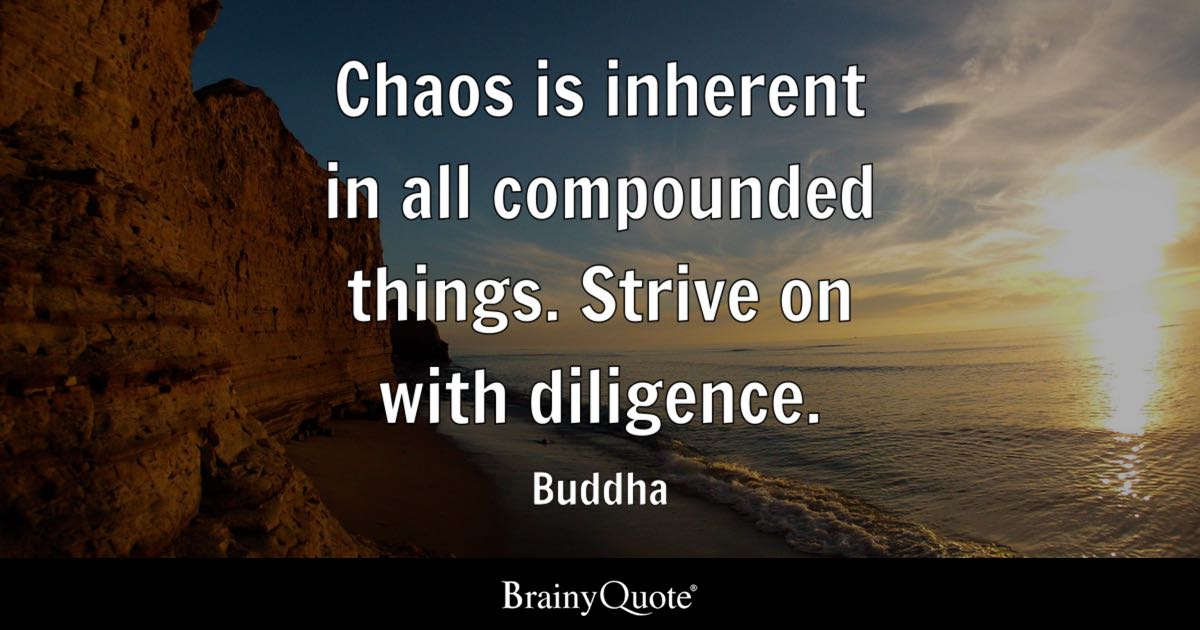 Top 10 Chaos Quotes - BrainyQuote