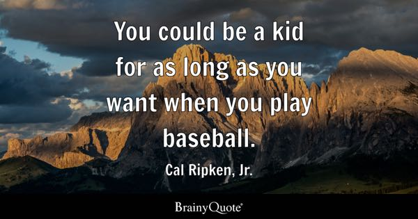 Baseball Quote Brilliant Baseball Quotes  Brainyquote