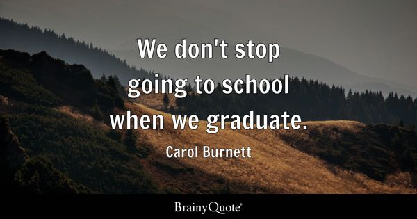 Graduation Quotes Brainyquote