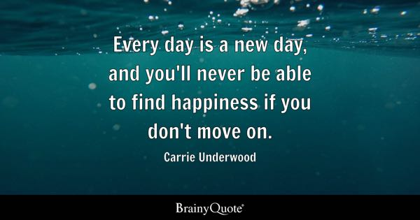 Quotes About Moving On Simple Moving On Quotes  Brainyquote