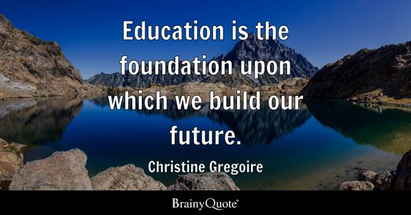 Foundation Quotes Brainyquote
