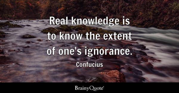 Ignorance Quotes Brainyquote
