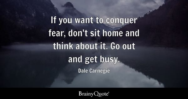 Fear Quotes Stunning Fear Quotes  Brainyquote