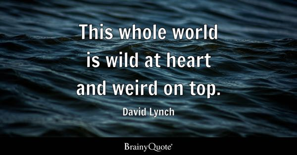 Weird Quotes Brainyquote