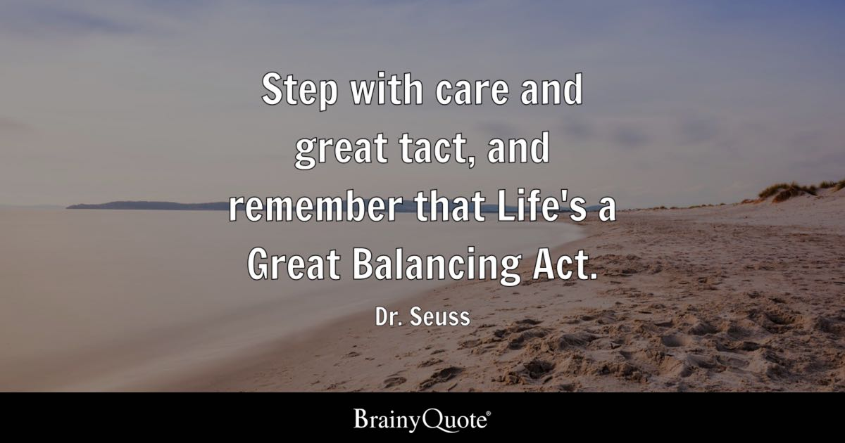 Dr Seuss Step With Care And Great Tact And Remember