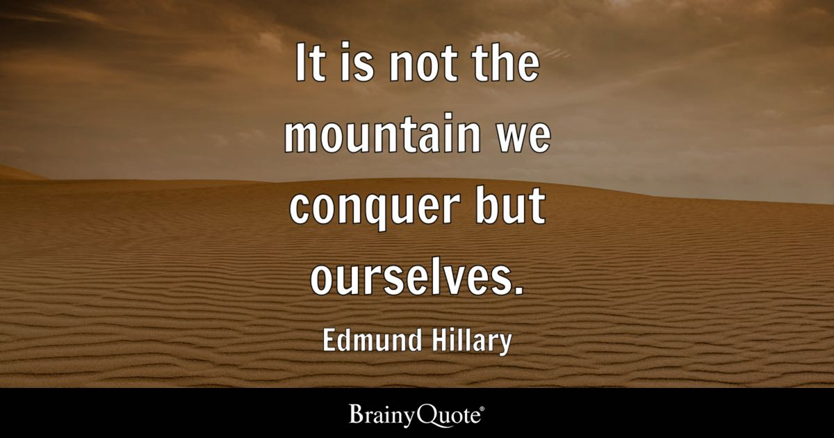 Image result for edmund hillary quotes