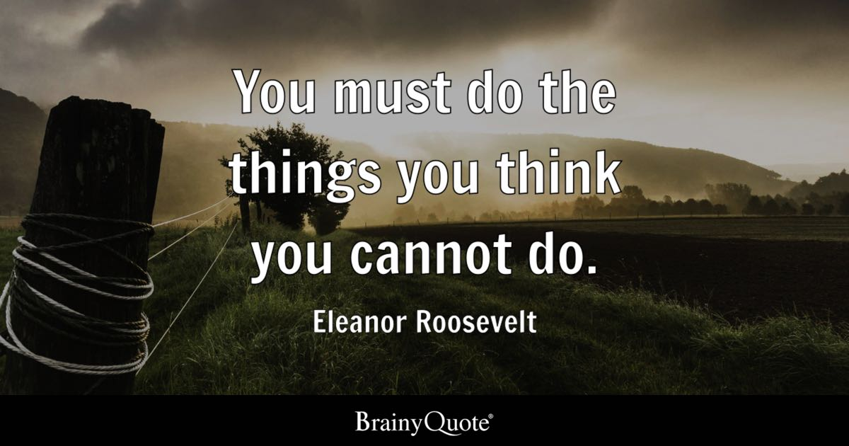 Top 10 Eleanor Roosevelt Quotes Brainyquote
