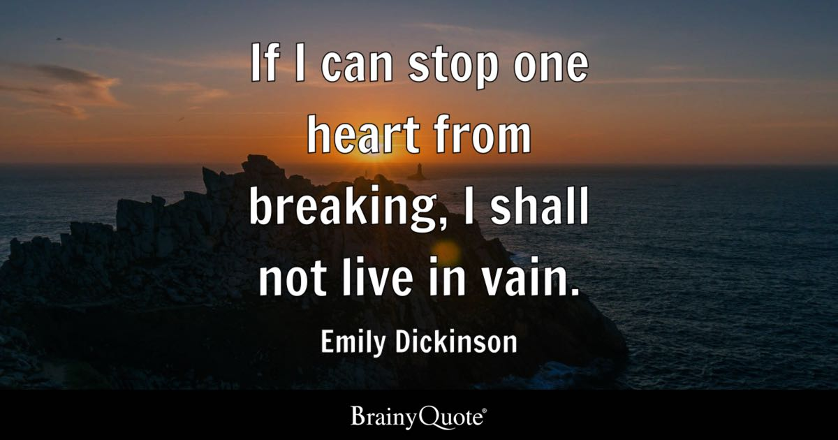 Top 10 Emily Dickinson Quotes Brainyquote