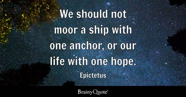 Anchor Quotes Brainyquote