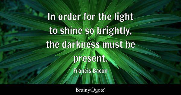 Light And Dark Quotes Amazing Light Quotes  Brainyquote