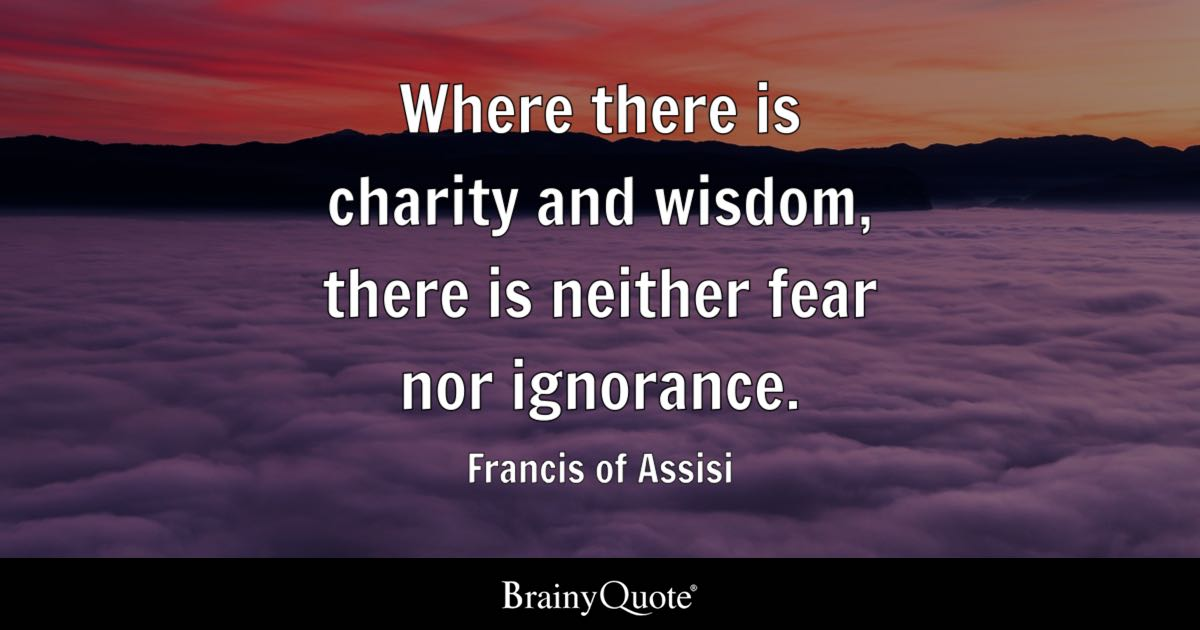 Image result for pictures and quotes of st. francis of assisi