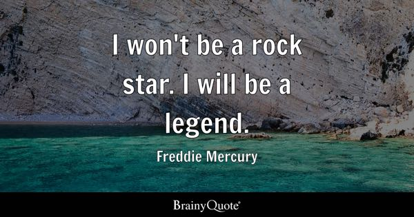 Freddie Mercury Quotes Brainyquote