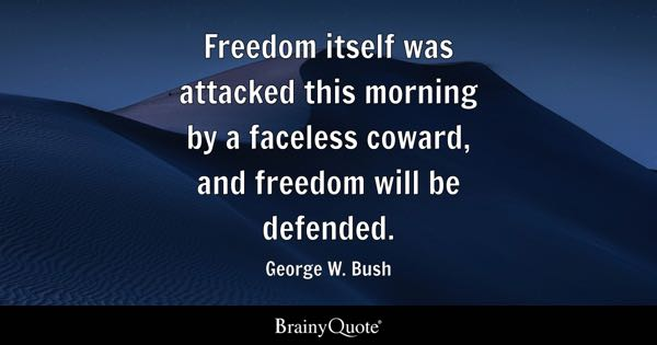 George W Bush Quotes Brainyquote