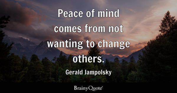 Best 50+ Quotes For Peace Of Mind