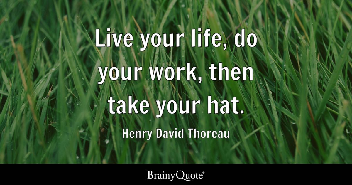 a biography and life work of henry david thoreau an american author Today marks the 200th anniversary of henry david thoreau's birth author: bio staff publish date: we look at some colorful facts about the poet's life and work.