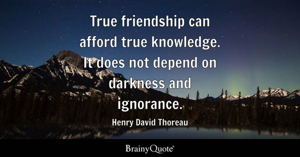 Quotes About True Friendship Entrancing True Friendship Quotes  Brainyquote