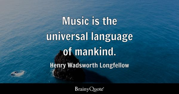universal languages Universal language quotes from brainyquote, an extensive collection of quotations by famous authors, celebrities, and newsmakers.