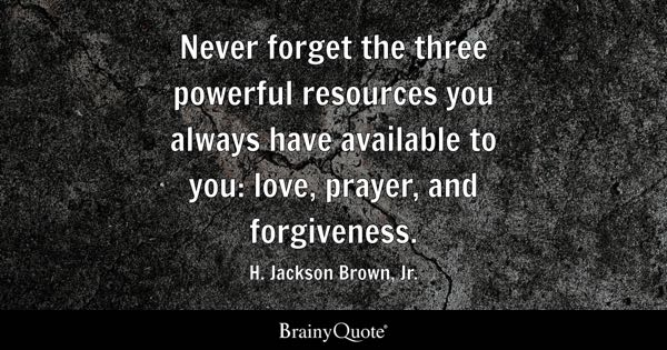 Forgiveness Quotes Brainyquote