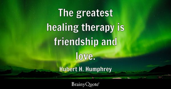 A Quote About Friendship Inspiration Friendship Quotes  Brainyquote