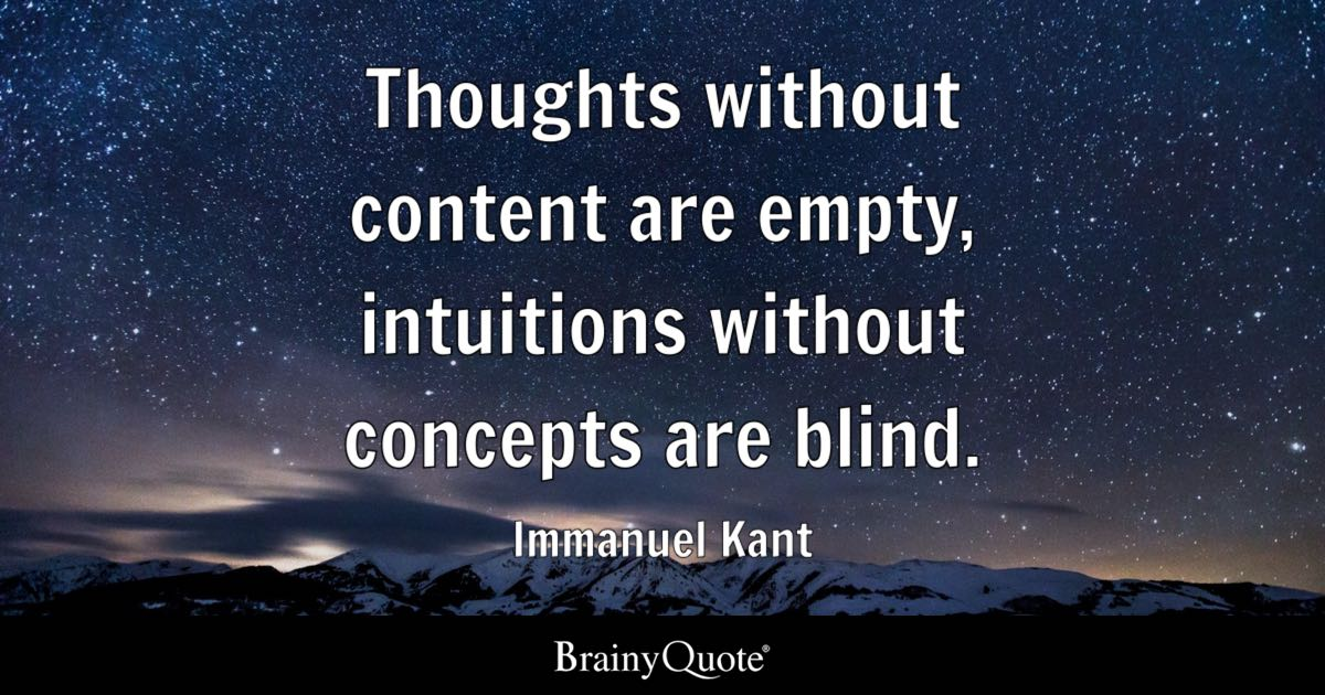 Blind Quotes Enchanting Immanuel Kant Quotes  Brainyquote
