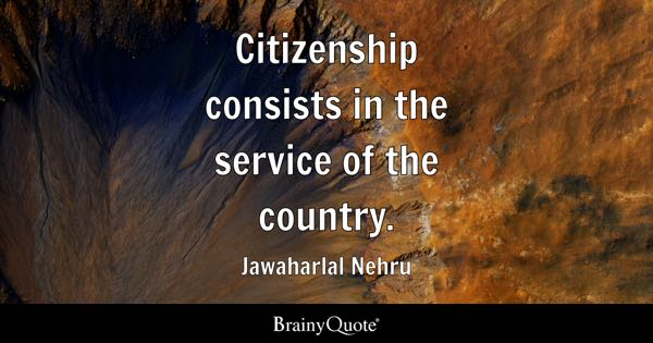 Citizenship Quotes Pleasing Citizenship Quotes  Brainyquote
