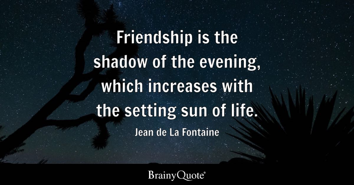 Jean De La Fontaine Quotes BrainyQuote Delectable One Tree Hill Quotes About Friendship